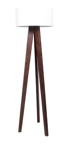 lampara de pie madera maciza diseño moderno forbidan muebles