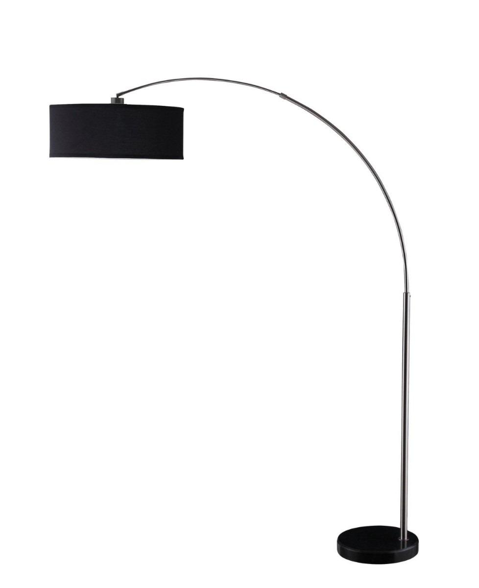 Lampara de piso arco vertical coaster hm4 3 en for Lampara de piso minimalista