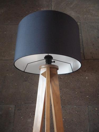 lampara de piso minimalista vintage recamara nordico tripie