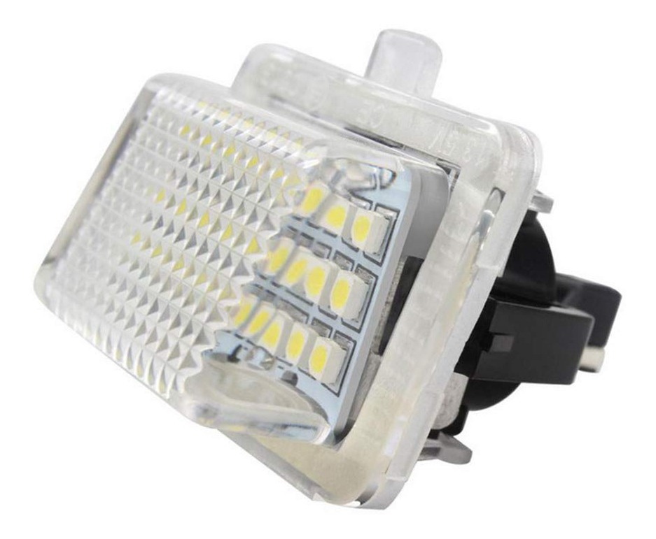 W207 W216 W221 L/ámpara de placa de licencia LED de 2 piezas para Mercedes Benz W204 W212