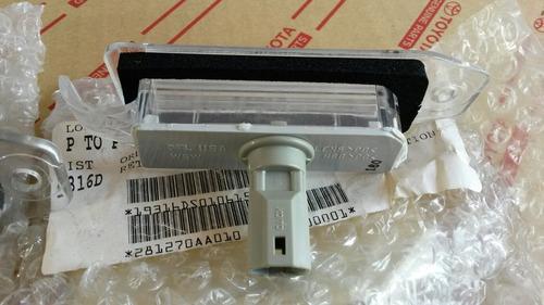 lámpara de placa toyota camry 96/01 original toyofamily