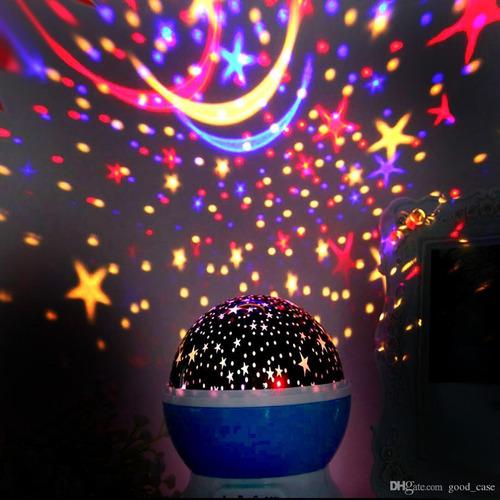 lámpara de proyección giratoria star master dream
