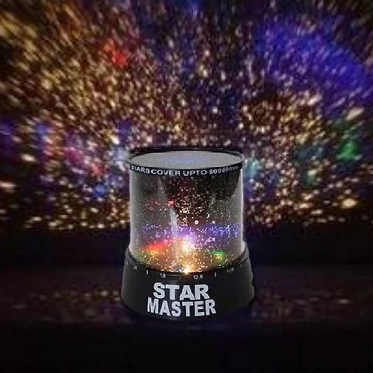 Master De H5007 Estrellas Star Lampara De Led Proyeccion 80OnXNwkP