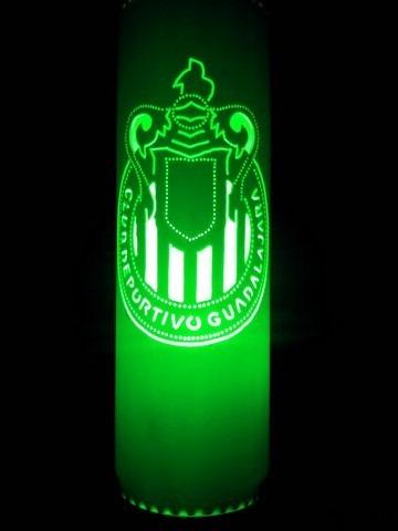 lampara de pvc club chivas