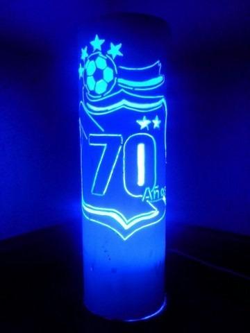 lampara de pvc club puebla