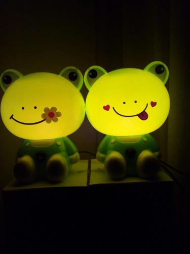 lampara de rana decorativa infantil