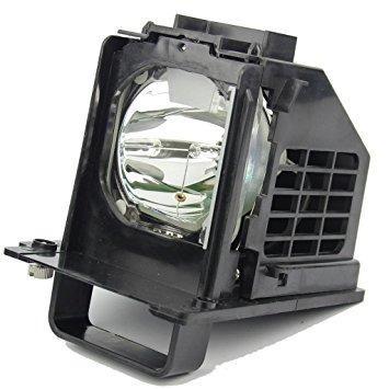 lámpara de repuesto con la caja de mitsubishi wd-60638, wd-