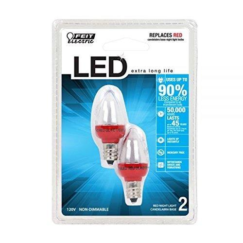 lámpara de repuesto feit electric bpc7 / r / led led, rojo