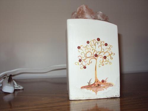 lámpara de sal - arbol de la vida