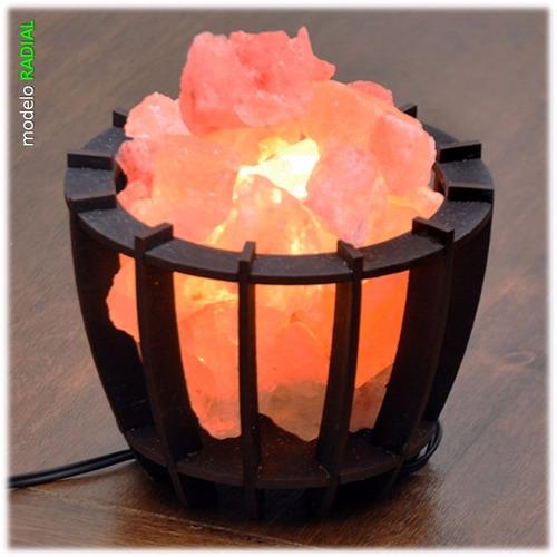 lámpara de sal del himalaya