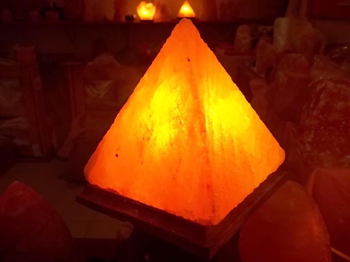 PirámideLampara Sal D Grande Himalaya De Lámpara Regalo v6gYfIb7ym