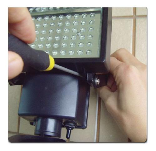 lampara de seguridad de 60 led