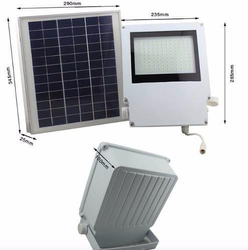 L mpara de seguridad solar 108 leds para exteriores y - Lampara de jardin solar ...