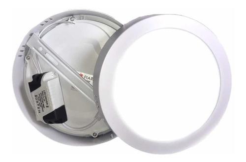 lampara de sobreponer led 12w luz blanca completa , oferta techo plafon 100w