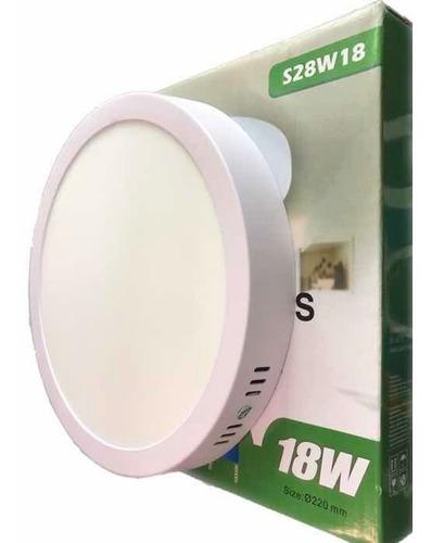 lampara de sobreponer led 18w (150)w  alta iluminacion