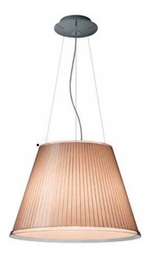 lámpara de suspensión original artemide choose mega roja .