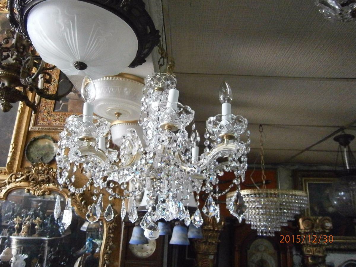 lampara de techo cristal swarovski luces