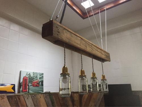 lampara de techo de  diseño industrial-dimzi