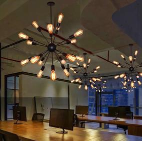 Oficina Restaurante Lámpara De Moderna Decorativa 12 Techo tsrdhQ