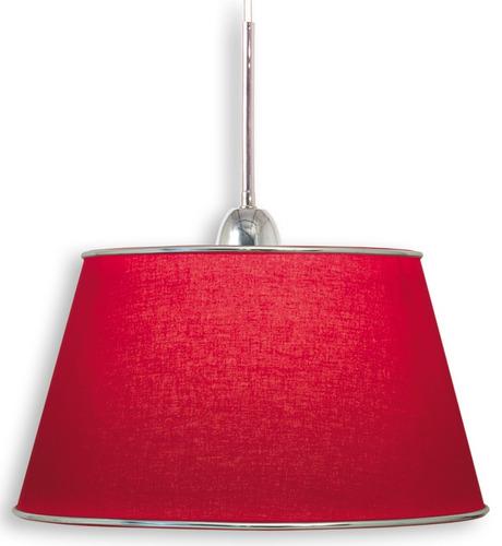 lampara de techo ldt/1 conico rojo