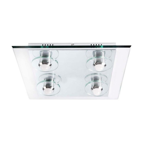 lampara de techo led 4 luces vidrio home collection ilu tc10