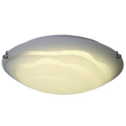 Lámpara De Techo Led Redonda De Cristal 4000k 12w - $ 550.00 en ...