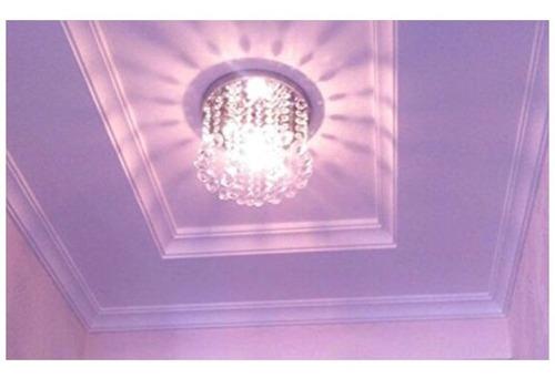 lámpara de techo minicandelabro candil cristal zeefo