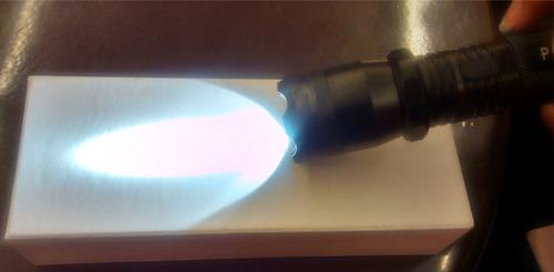 lampara de toques taser