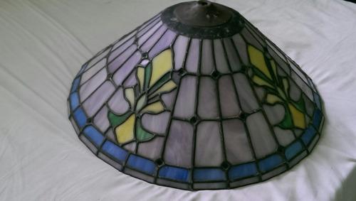 lámpara de vitral