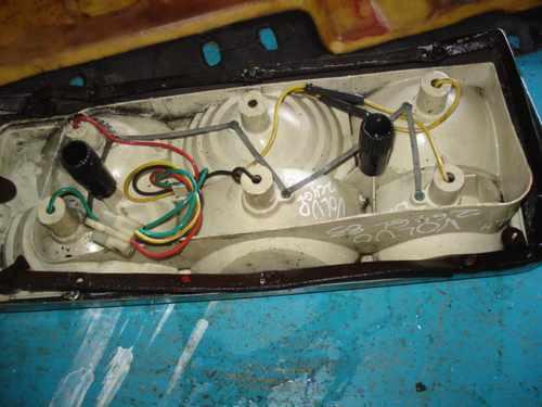 lampara de volvo 264 gl 1983
