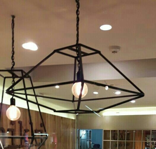 Lampara Decoindustrial Pantalla Iluminación Comedor Living