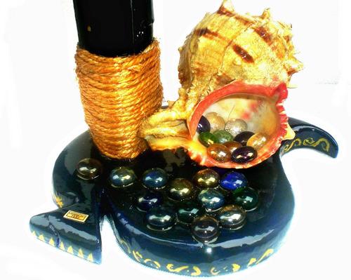 lampara decorativa caracol garzas buhos gaviotas playa campo