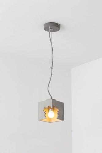 lampara decorativa colgante rubik
