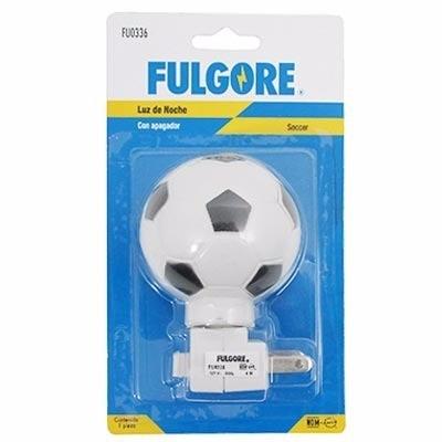 lampara decorativa con interruptor de futbol fulgore fu0336