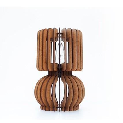 lámpara decorativa en mdf