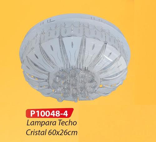 lámpara decorativa techo 100% cristal puro control remoto