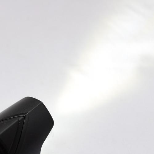 lámpara delantera de seguridad con baterías 80 lumines cliff