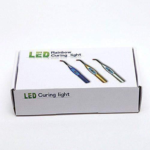lampara dental led + fibra de blanqueamiento