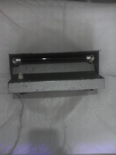 lampara detectora de billetes falsos luz ultravioleta metal!