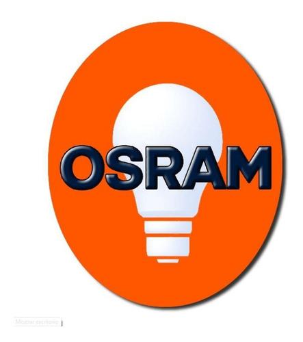 lampara dicro led osram 4w 220v gu10 cálida - e. a. x10 uni.