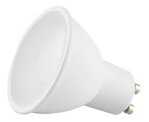 lampara dicroica led 8w luz calido frio 640lm 220v gu10