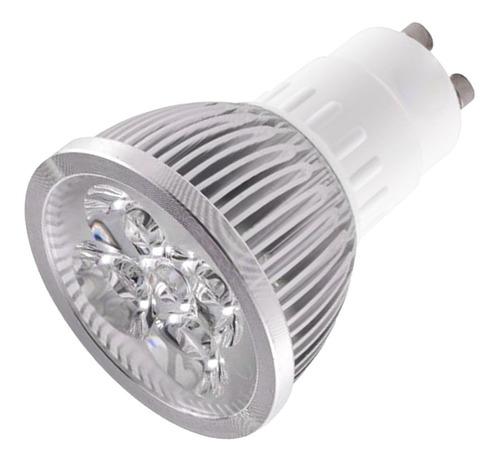 lámpara dicroica led gu10- bipin 220 volt 5x1w blanco frio