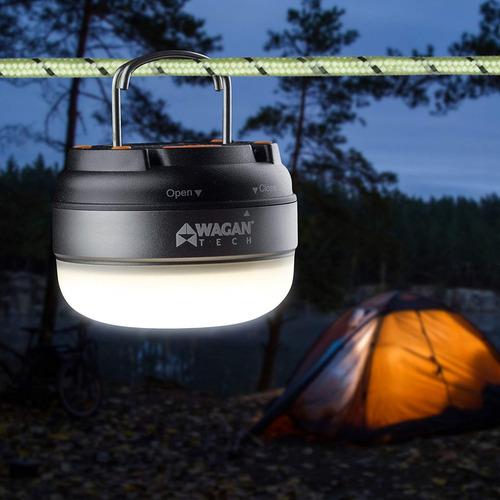 lampara domo led wagan ( ideal para campamentos) cod: (4301)