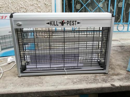 lampara electroinsectos matamosca kill pest 30w importada