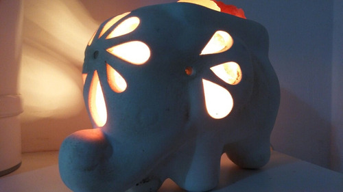 lampara elefante -piedra de sal del himalaya-fabrica-