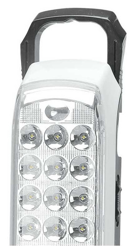 lampara emergencia 10 horas de luz, 72 led, recargable