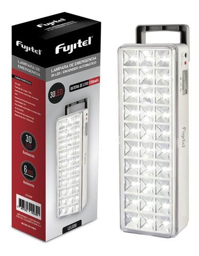 lampara emergencia fujitel 30 led litio 1 ud / superstore
