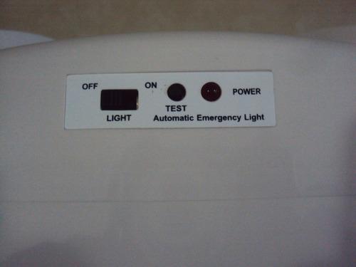 lampara emergencia led multivoltaje con bateria recargable