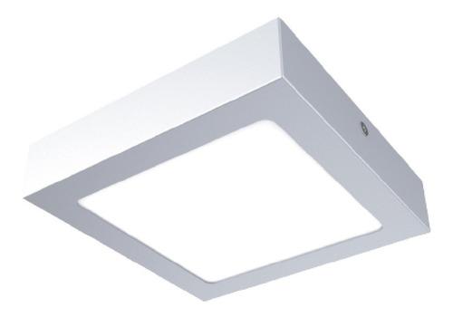 lampara empotrada en plafon  ptlled-c/6w/30 mod cuadrado