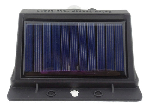 lampara energía solar 20 leds sensor movimiento exterior